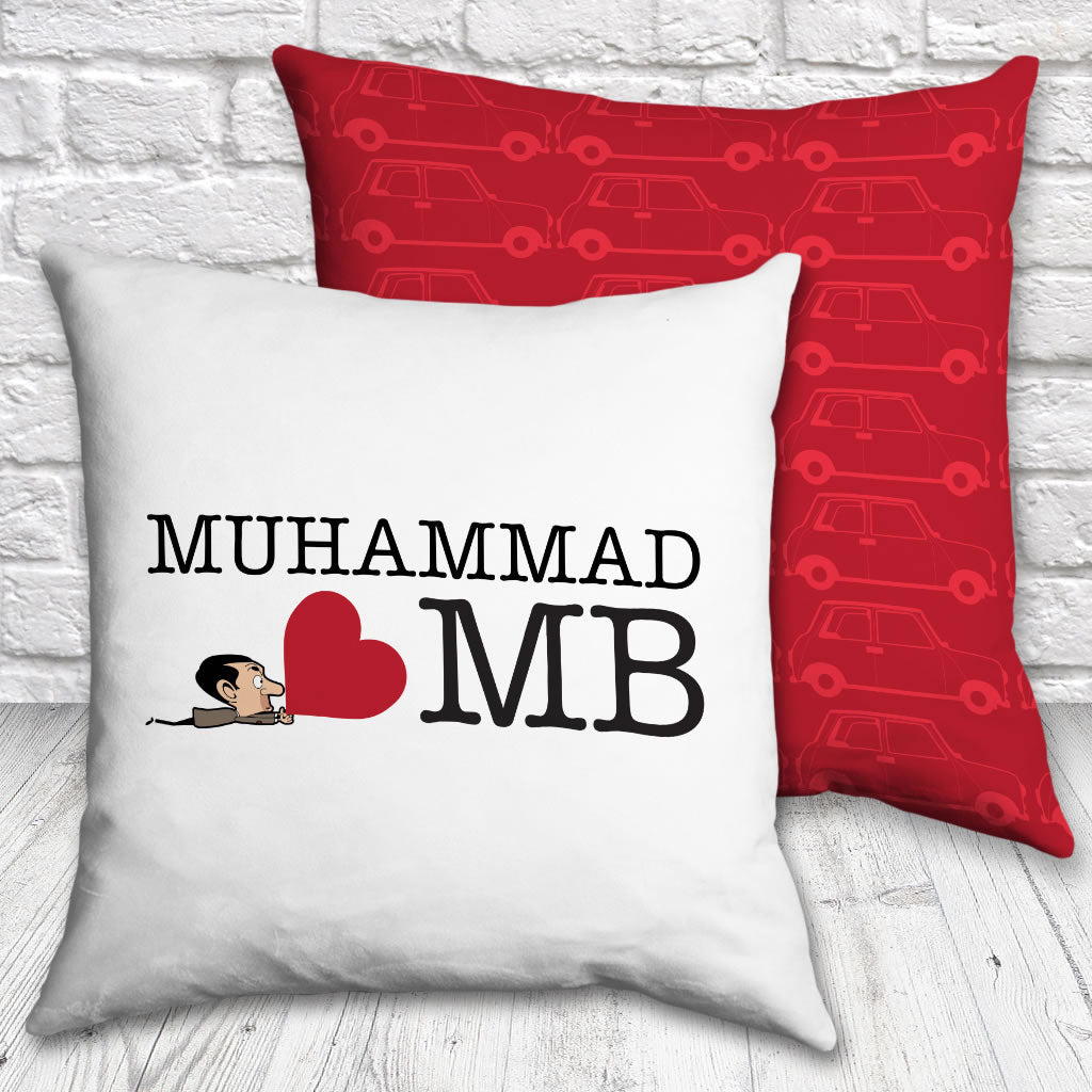 Heart Mr Bean 3 cushion (Lifestyle)
