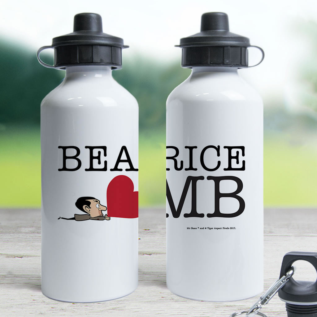 Heart Mr Bean 3 Water bottle (Lifestyle)