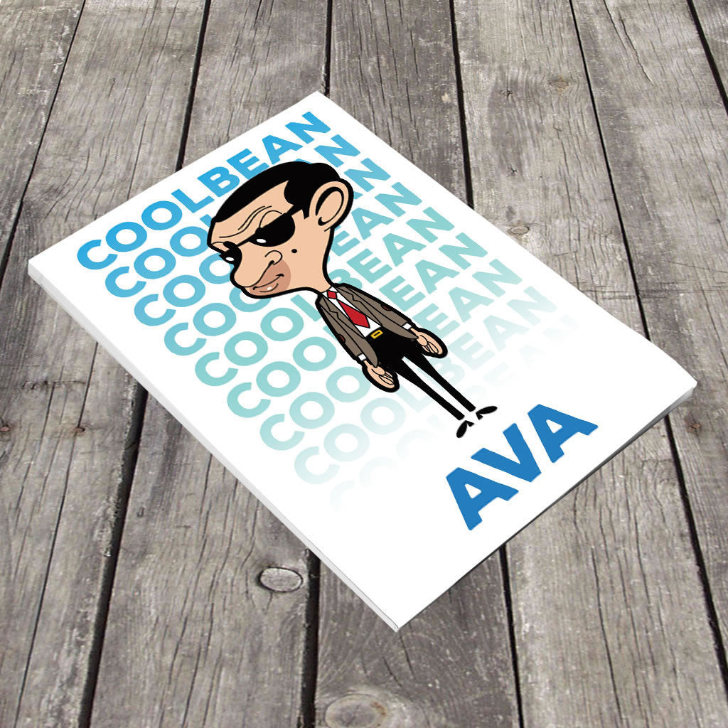 Cool Bean A5 Notepad (Lifestyle)