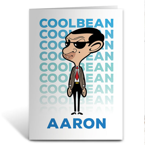 Cool Bean Greeting Card