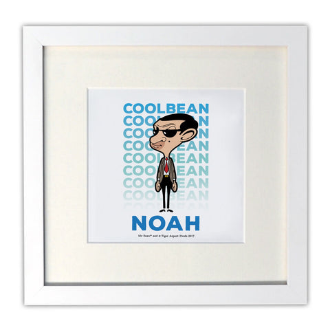 Cool Bean Mounted Art Print