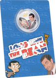 AUTOGRAPHED Mr Bean 30th Anniversary Collectors Silver Proof Coin