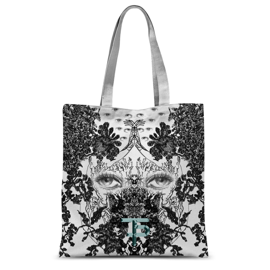 Outside your eyes Classic Sublimation Tote Bag