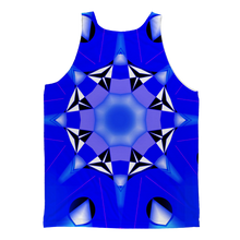 Blue 1 Classic Sublimation Adult Tank Top