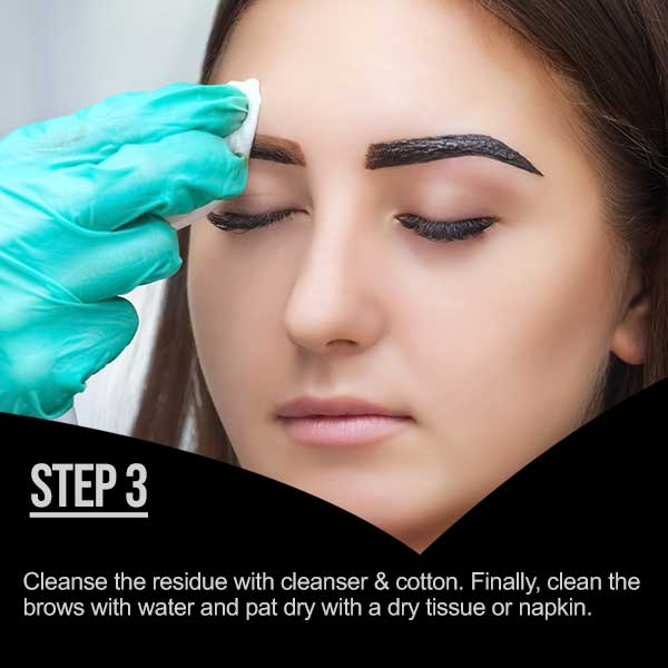 HOW TO USE MINA IBROW HENNA - STEP 3
