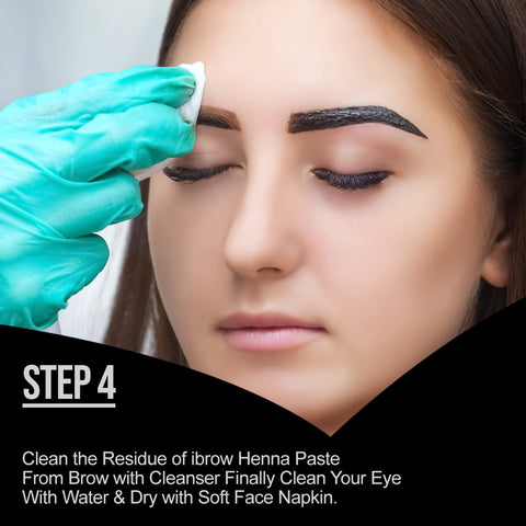 How to Use Eyebrow henna Step 4