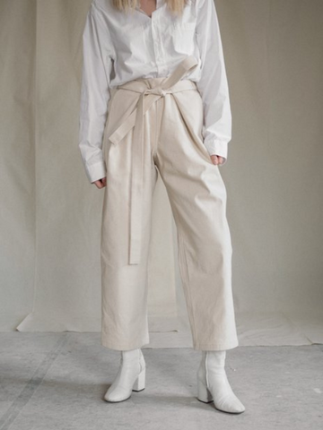 Atelier Trousers Cream | Aure