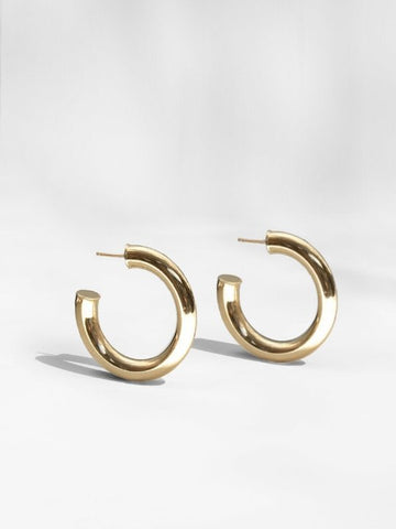 Dylan Hoop Earrings | Young Frankk - The Collection One
