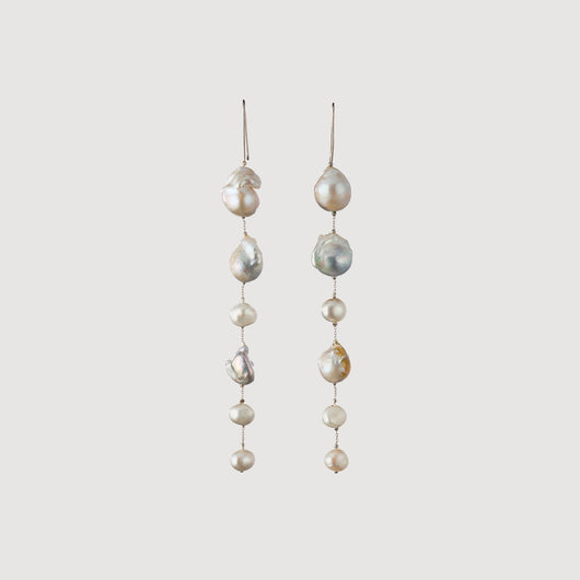 Mixed Pearl Earrings