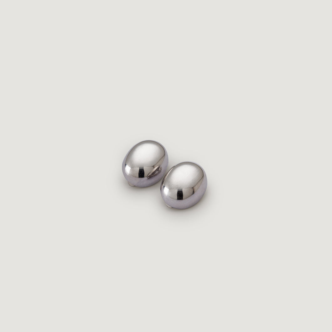 Oval Clip-on Earrings