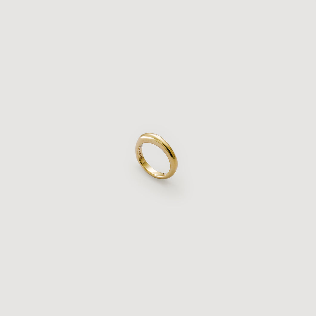 Thin Band Ring - Gold