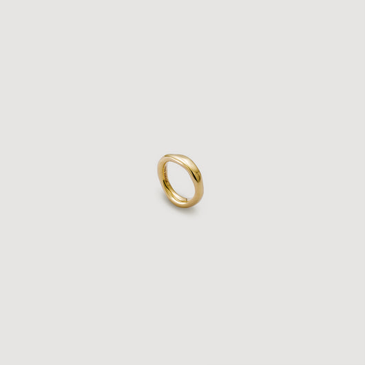 Thick Band Ring - Gold