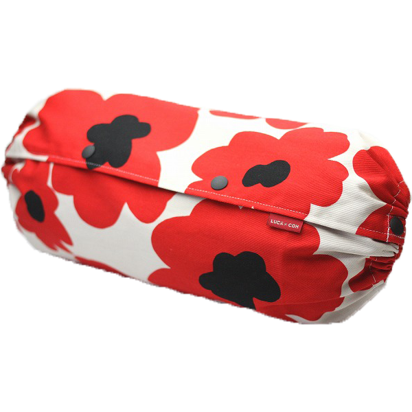 Baby Carrier Cover - Scandinavian poppy (Red)