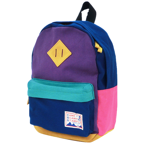 STAMPLE Cotton Canvas Backpack MIX