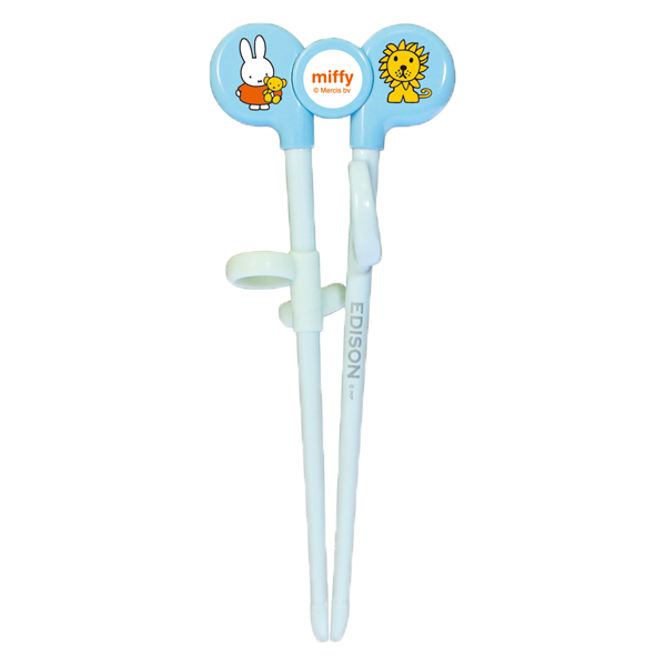 Kids Training Chopsticks - Miffy(BLUE)