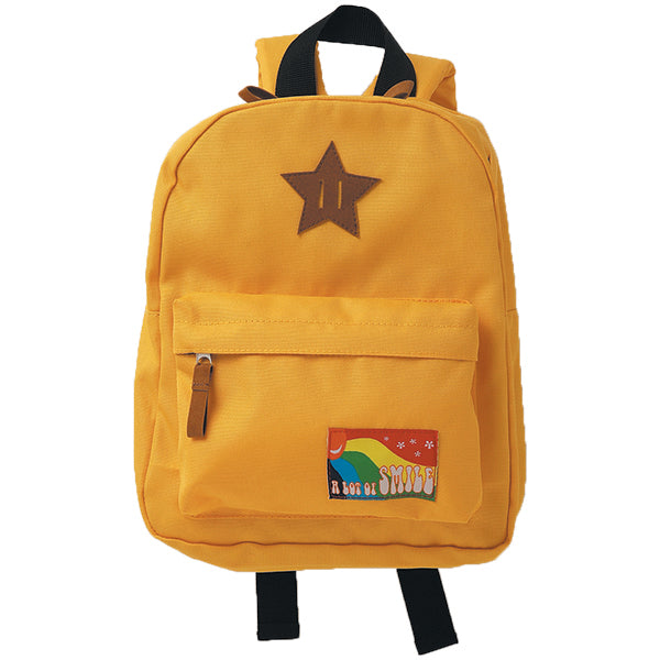 Kids Backpack MOUNTAIN YELLOW
