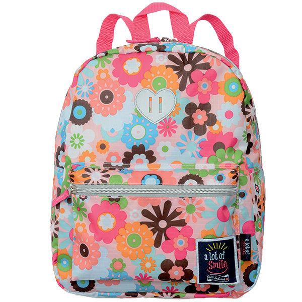 Kids Backpack FLOWER PINK (Large)