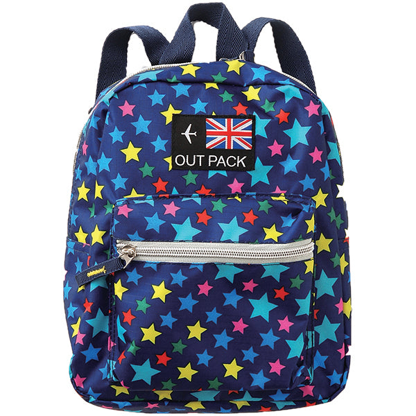 Kids Backpack STAR BLUE (Small)