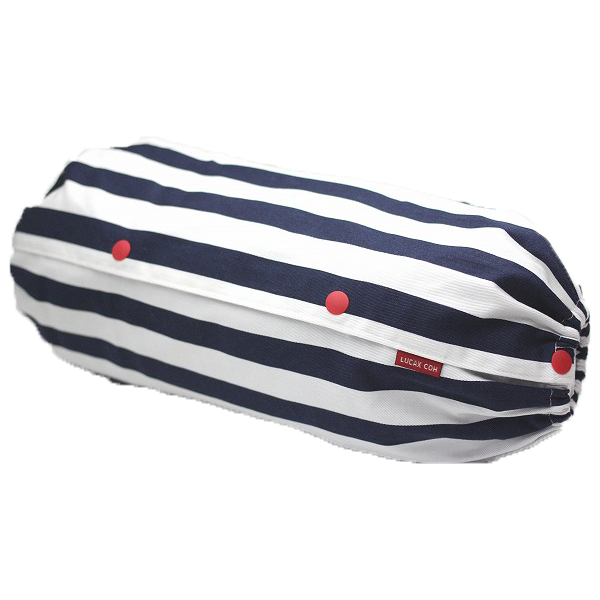 Baby Carrier Cover - 『Size L』Stripes (Blue x White)