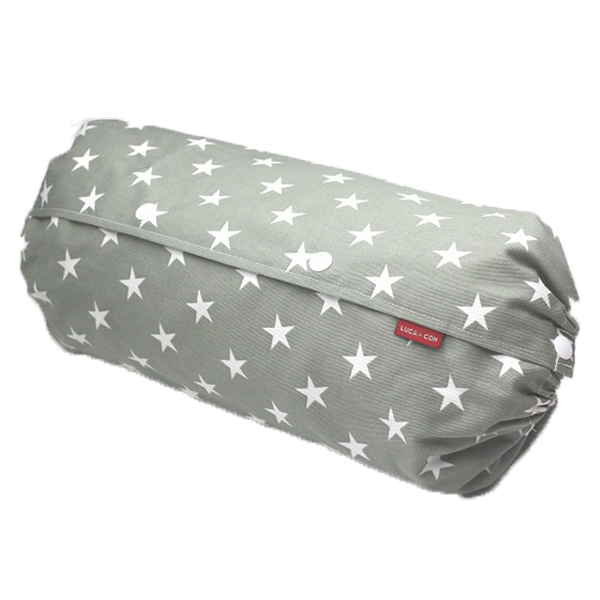 Baby Carrier Cover - 『Size L』Big Stars (Grey x White)