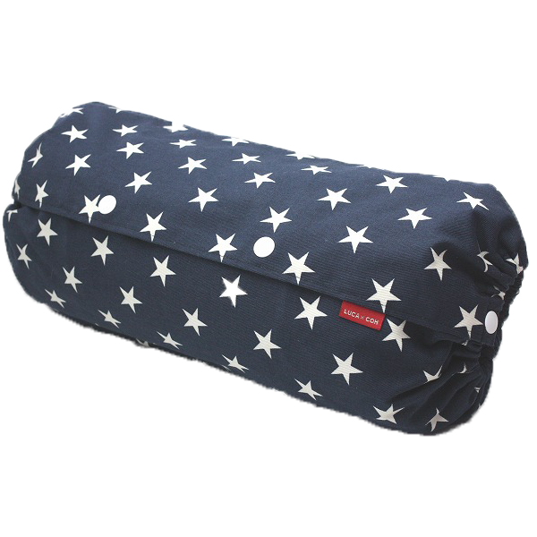 Baby Carrier Cover - 『Size L』 Big Stars (Navy x White)