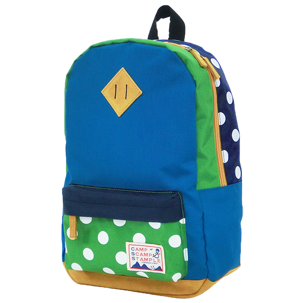 STAMPLE Nylon Backpack BLUE