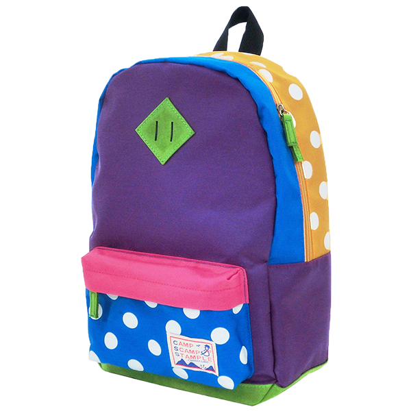 STAMPLE Nylon Backpack MIX