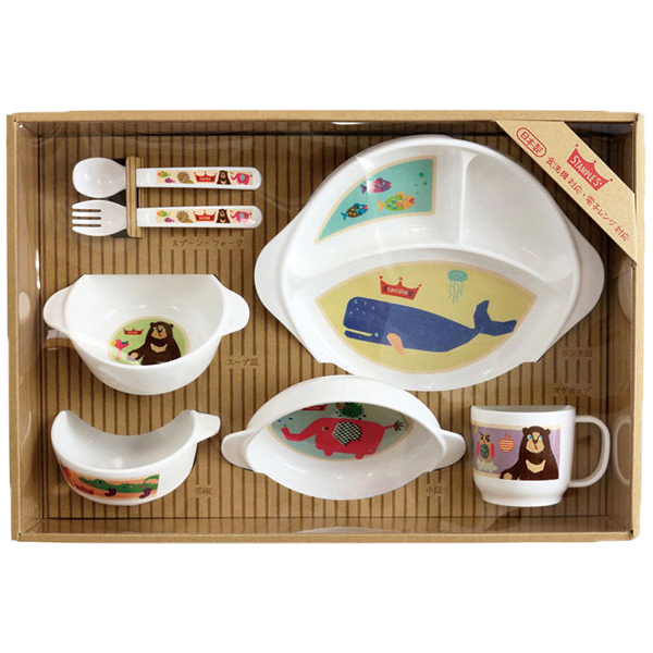 STAMPLE 7-piece Mealtime Set