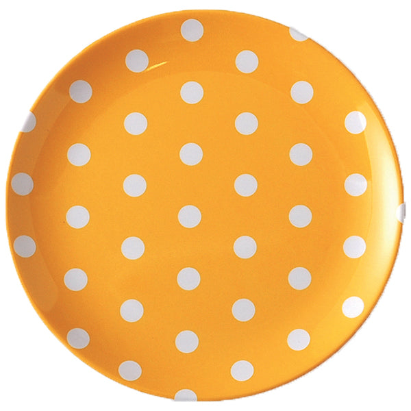 Polka Dot Plate - YELLOW