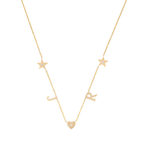 Squad Goals with diamond accent in heart or star!