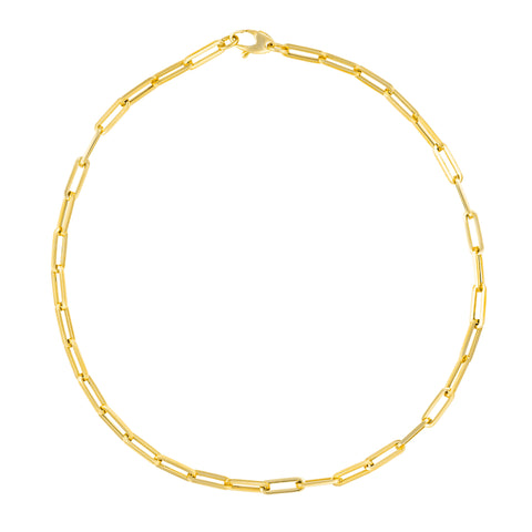 Large Paper Clip Oval Cable Link Chain