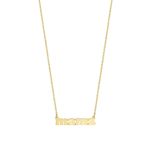 Mini Me - 14K Yellow Gold - Mama