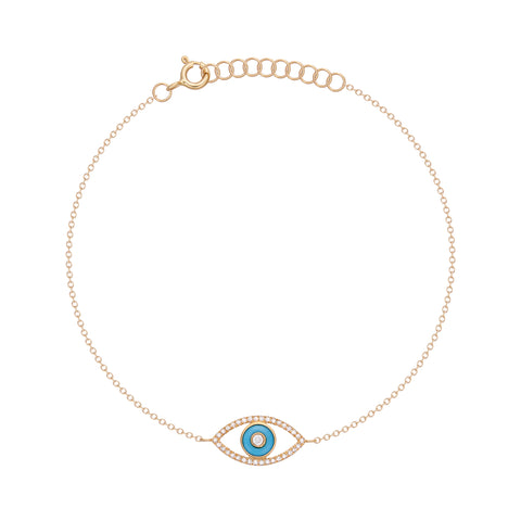 Large Diamond Evil Eye