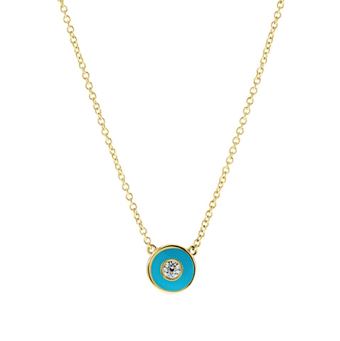 Got My Eye On You- Diamond Turquoise Eye- Lola James Jewelry