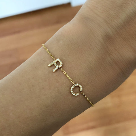 Diamond Squad Goals Bracelet