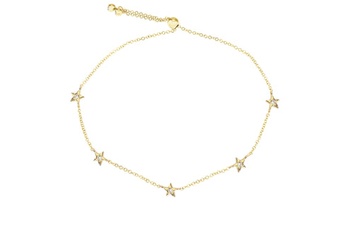 Bright Sky-Multi Star Diamond Bracelet-Lola James Jewelry
