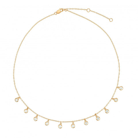 All Choked Up- CZ Choker- Lola James Jewelry