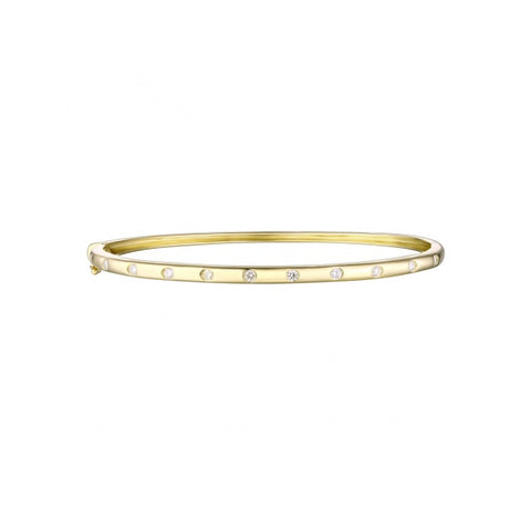Luxe- Diamond 14k Gold Bracelet, Fine Jewelry- Lola James Jewelry