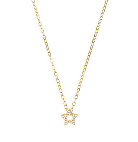 Ice- CZ  Star Necklace - Lola James Jewelry