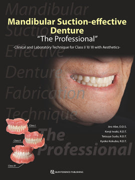 "Mandibular Suction-effective Denture ""The Professional"""