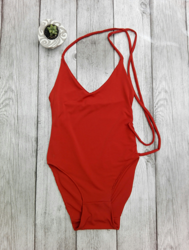 Halter Neck , Low Cut Swimsuit