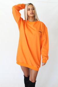 Oversized Crew Neck Sweatshirt