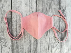 Dusty Pink fabric Mask