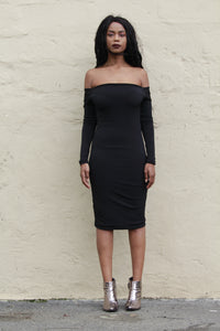 Reversable Off Shoulder Bodycon