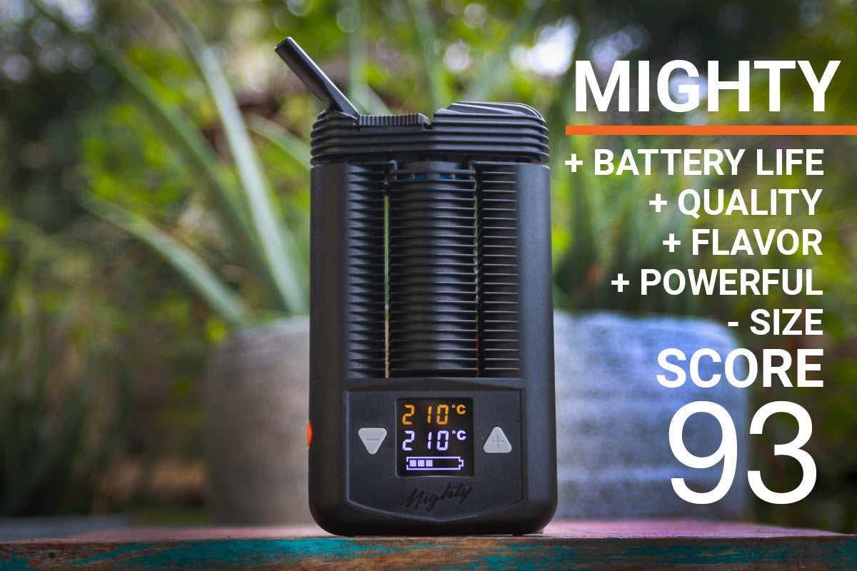 Mighty vaporizer quick review