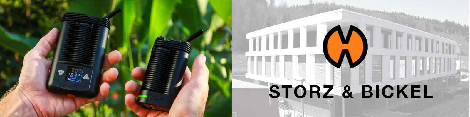 Storz & Bickel Vaporizers and Building
