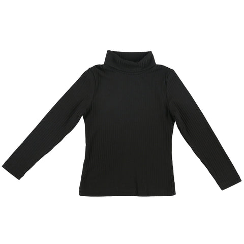 Turtleneck Ribbed Shirt