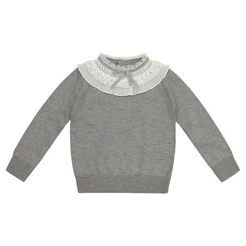 Aliza Sweater With Lace Detail