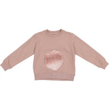 Soft Circle Sweatshirt Top