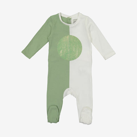 Hadas Two Tone Summer Baby Onesie